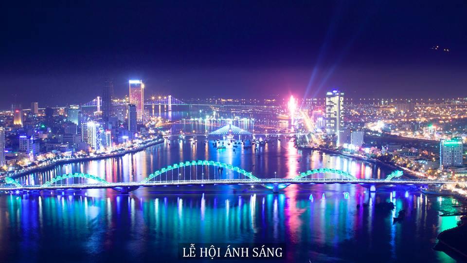 Lễ hội ánh sáng tổ chức vào tháng 9 tại Đà Nẵng