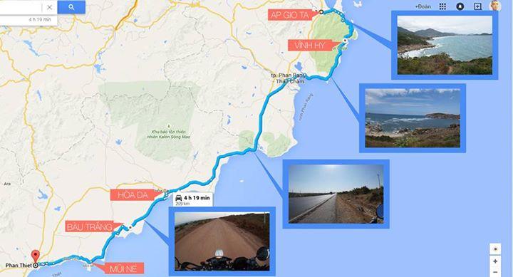 Nha Trang - Vĩnh Hy - Phan Ri - Bàu Trắng - Mũi Né. Đoạn đường biển đẹp nhất Việt Nam :))