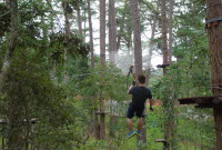 [Review] Đu dây Đà Lạt – Datanla High Rope Course 11/9/2016