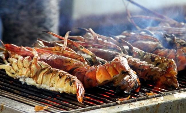 Hải sản ở đảo Nam du
