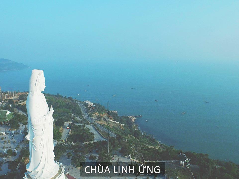 Chùa Linh Ứng vào sớm tinh mơ - Sơn Trà , Đà Nẵng