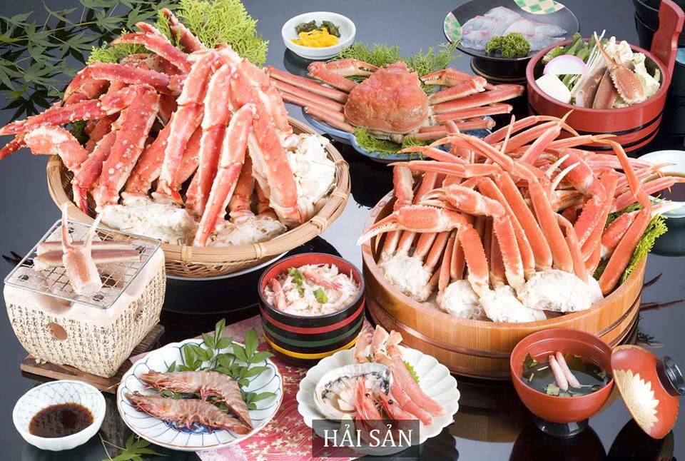 Hải sản phong phú với nhiều món ăn hấp dẫn