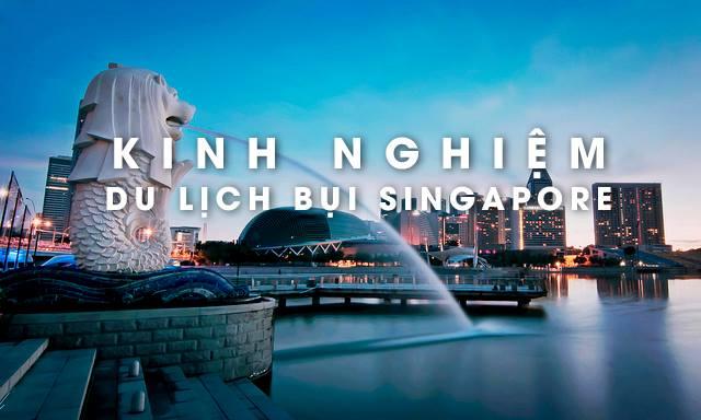 Photo of Kinh nghiệm du lịch Singapore tự túc giá rẻ 2019